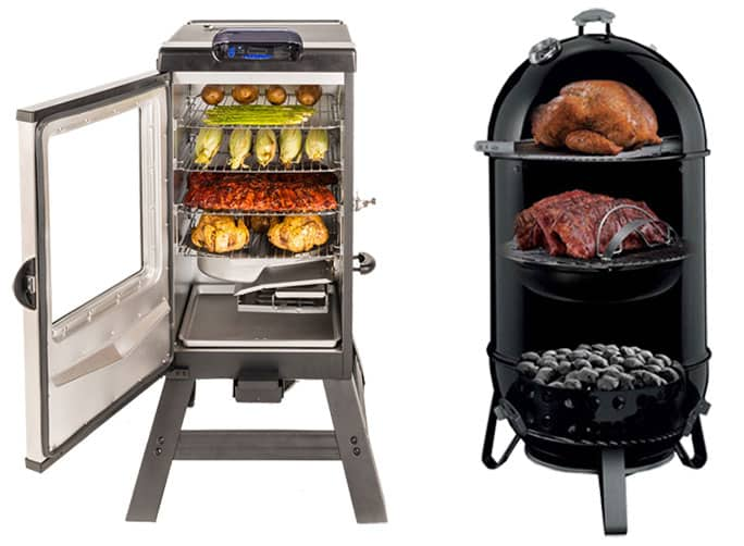 How to Tell the Charcoal and Electric Smokers Differences