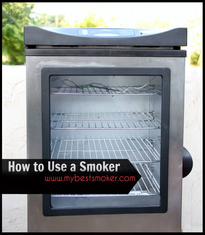 How to Use Any Kind Of Electric Smoker with Wood Chips