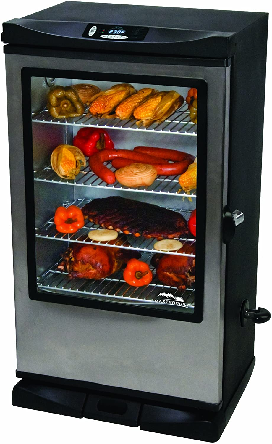 Masterbuilt 20070312 30-Inch Front Controller Electric Smoker Review
